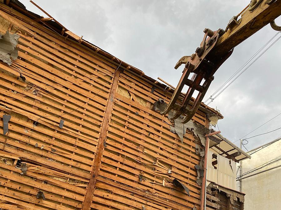 家屋解体のイメージ